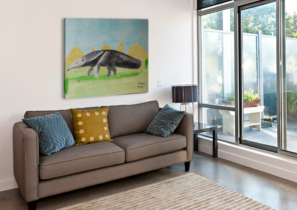 ANTEATER ANDRES BEATE  Canvas Print
