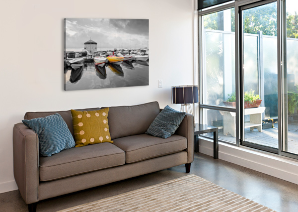 CIGARETTE BOATS MICHEL SOUCY  Canvas Print