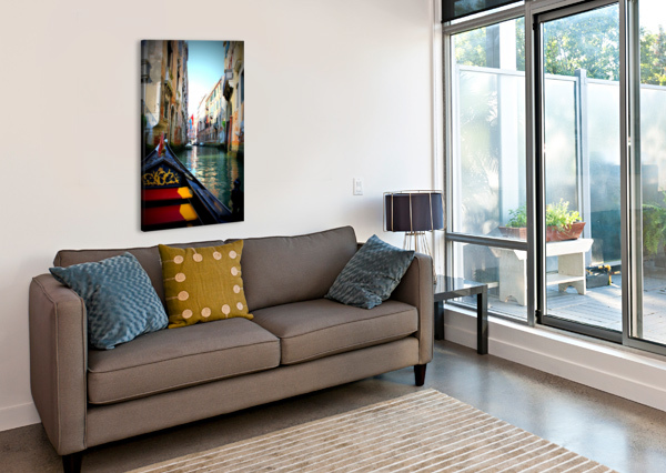 V E N I C E - ITALY CALYSSAS ART & PHOTOGRAPHY  Canvas Print