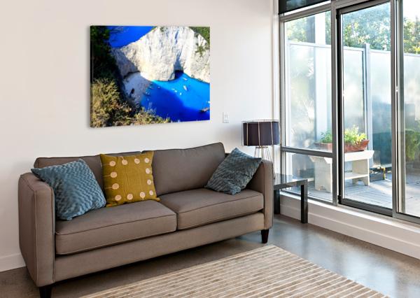 Z A K Y N T H O S - GREECE CALYSSAS ART & PHOTOGRAPHY  Canvas Print