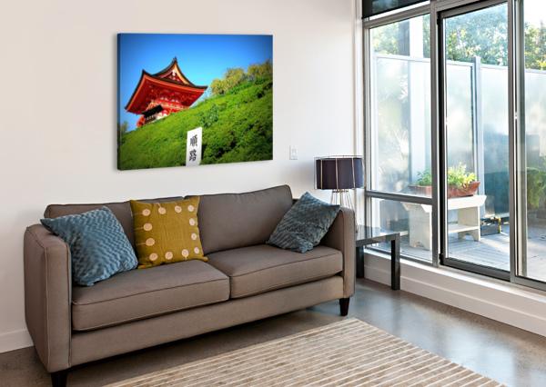 J A P A N CALYSSAS ART & PHOTOGRAPHY  Canvas Print