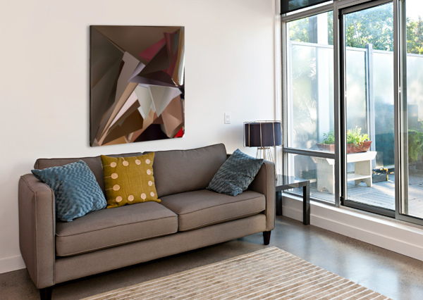 ART THREE AMPLY  Canvas Print