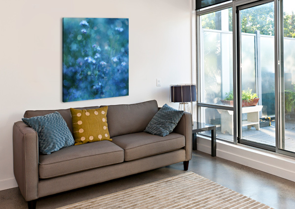 BLUE SERENITY 1X  Canvas Print