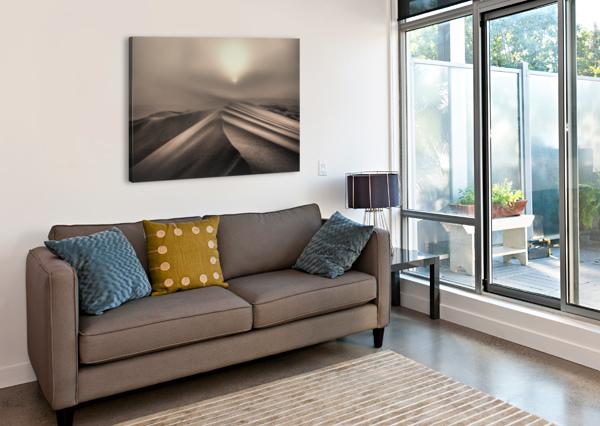 THE PERFECT SANDSTORM 1X  Canvas Print