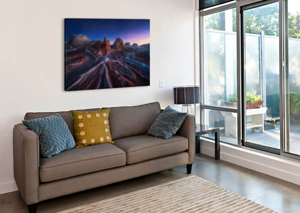 GORDIAN STONE KNOT 1X  Canvas Print