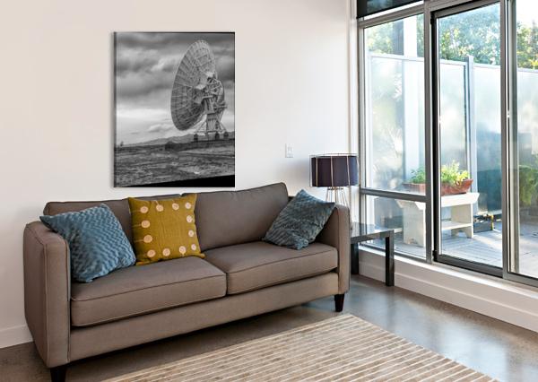VERY LARGE ARRAY NEW MEXICO CHRIS CRAMER  Canvas Print