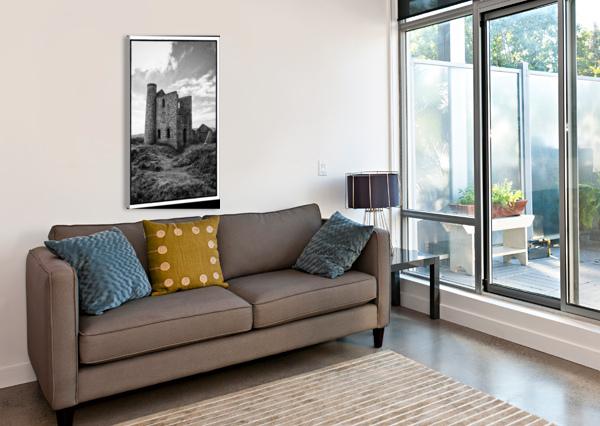TIN MINE CORNWALL CHRIS CRAMER  Canvas Print