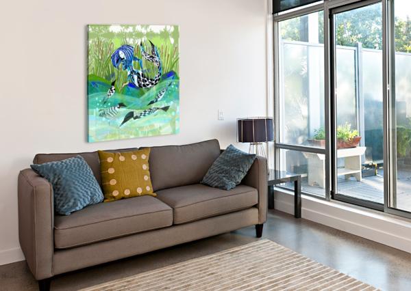 HUARD_MDAWILHA_ANIK LAFRENIERE_ ANIK LAFRENIERE  Canvas Print