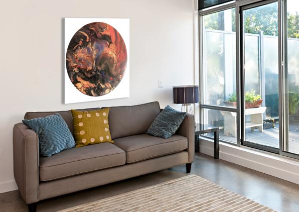 LAVA BRITT LEIDIG  Canvas Print