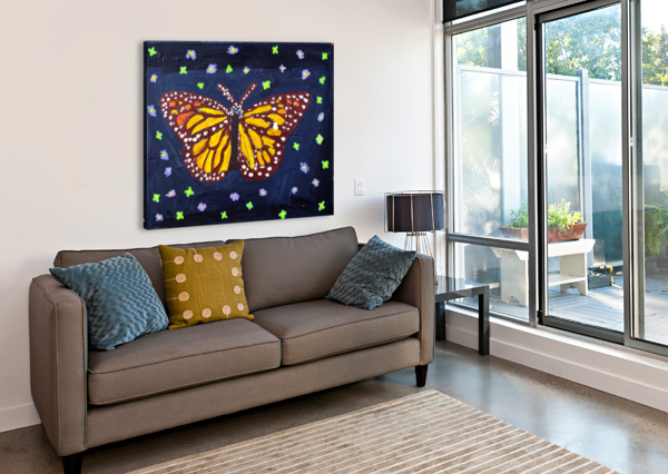 MARIPOSA. MAGGIE Z THE ARC OF THE CAPITAL AREA  Canvas Print
