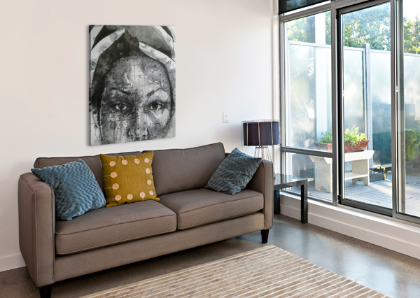 LOVE AND DISTRESS ASTONISHING ARTS  Canvas Print