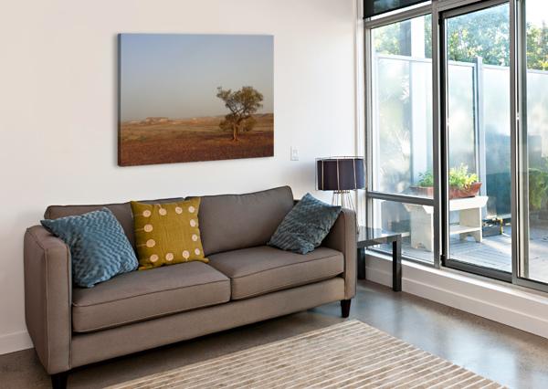 THE BREAKAWAYS SOUTH AUSTRALIA CEDANSBOITE  Impression sur toile