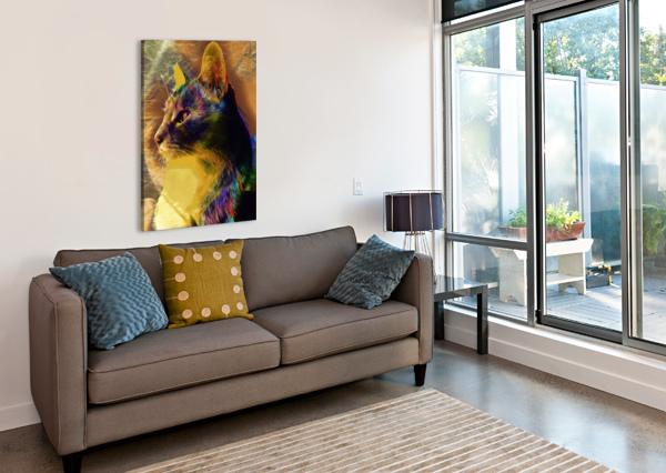CAT SPIRIT GUIDE DOROTHY BERRY-LOUND  Canvas Print