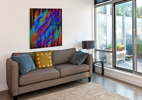 ABSTRACT ME A HERRERA  Canvas Print