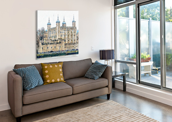 TOWER OF LONDON 2 DOROTHY BERRY-LOUND  Canvas Print