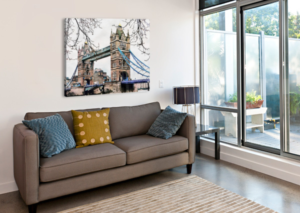 TOWER BRIDGE LONDON DOROTHY BERRY-LOUND  Canvas Print