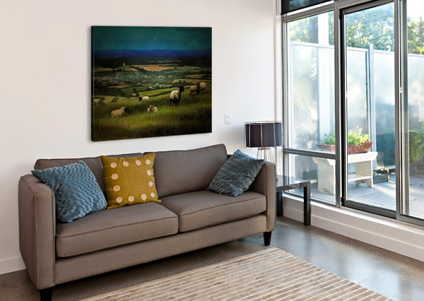 SOUTH DOWNS VIEW DOROTHY BERRY-LOUND  Canvas Print