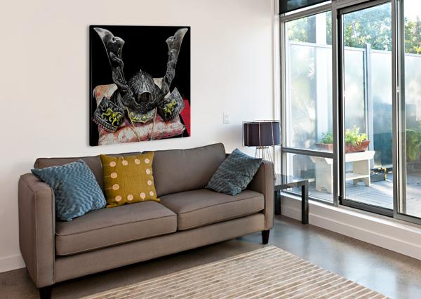 SAMURAI HELMET  DOROTHY BERRY-LOUND  Canvas Print