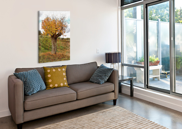 THE AUTUMN GUARDIAN DOROTHY BERRY-LOUND  Canvas Print