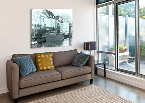 AWAITING SAIL DOROTHY BERRY-LOUND  Canvas Print