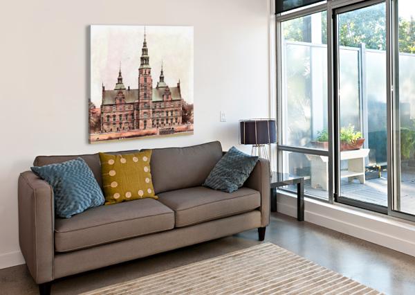 ROSENBORG CASTLE COPENHAGEN DOROTHY BERRY-LOUND  Canvas Print