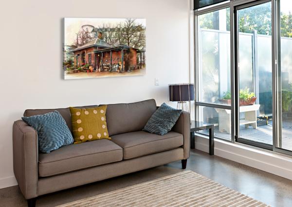 SHOP AT BOTANICAL GARDENS COPENHAGEN DOROTHY BERRY-LOUND  Canvas Print