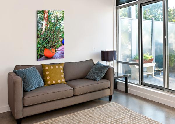 COLORFUL PLANT POTS MARRAKESH 10 DOROTHY BERRY-LOUND  Canvas Print