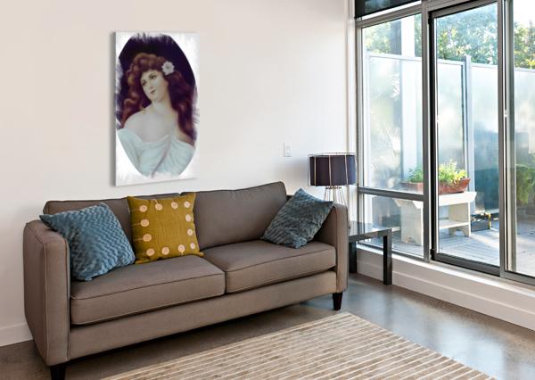 TITIAN BEAUTY  GLORIA NOVA  Impression sur toile
