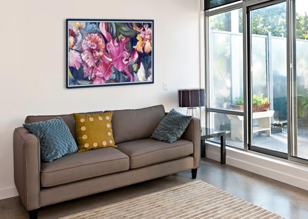 ORCHIDS BLOOMING   GLORIA NOVA  Impression sur toile