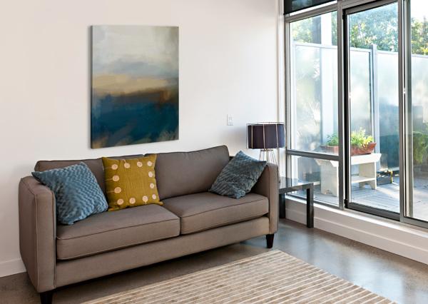 LAPIS BLUE LANDSCAPE SARAH BUTCHER  Canvas Print