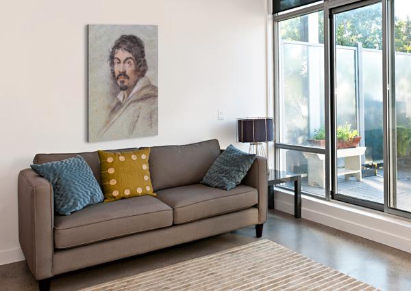 BILD OTTAVIO LEONI CARAVAGGIO  Canvas Print
