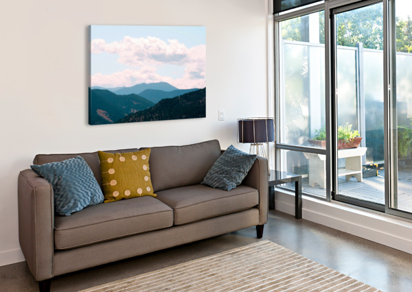 ROLLING HILLS AFTER THE SHUTTER PHOTOGRAPHY  Canvas Print