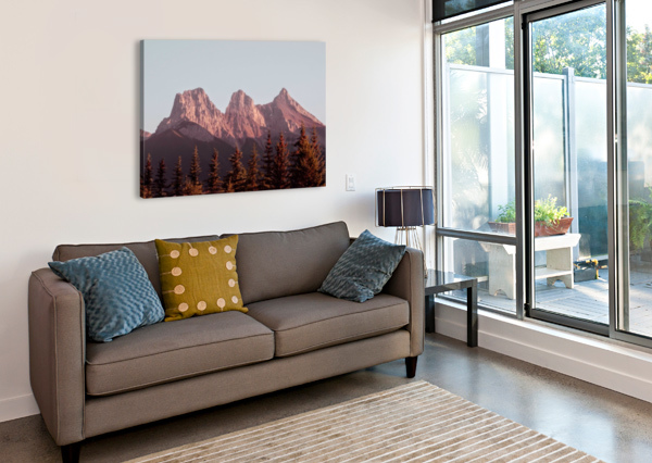 THE THREE SISTERS AFTER THE SHUTTER PHOTOGRAPHY  Canvas Print