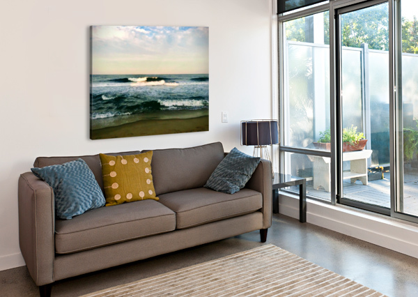 JULY SURF SARAH BUTCHER  Canvas Print