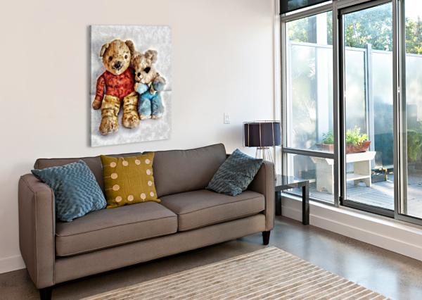 GIVE ME A BEAR HUG DOROTHY BERRY-LOUND  Canvas Print