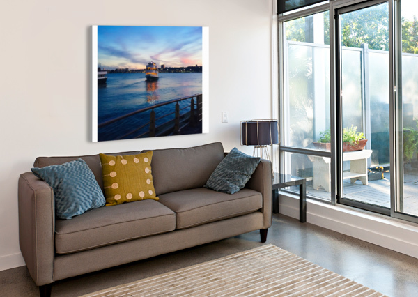 SKY & SEA A HERRERA  Canvas Print