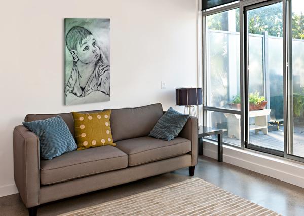 IMG_20191009_114952 AYESHA WAZIR  Canvas Print