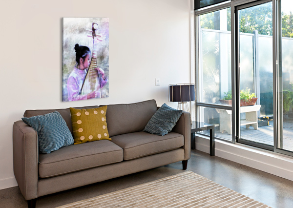CHINESE MUSICAL INTERLUDE DOROTHY BERRY-LOUND  Canvas Print