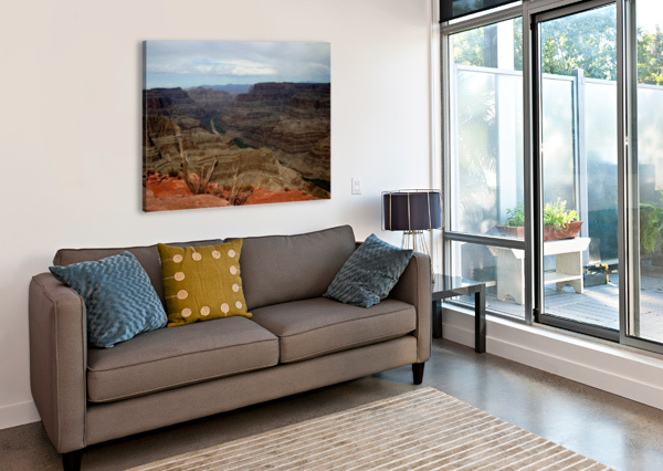 GRAND CANYON CONNIE MAHER  Canvas Print