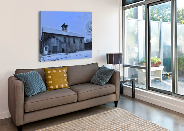 AVON BARN BRIAN CAMILLERI PHOTOGRAPHY  Canvas Print