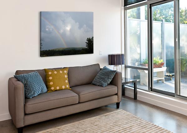 RAINBOW RIDGE BRIAN CAMILLERI PHOTOGRAPHY  Canvas Print