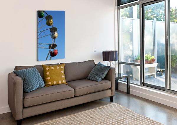 FERRIS WHEEL BOB VOGT  Canvas Print
