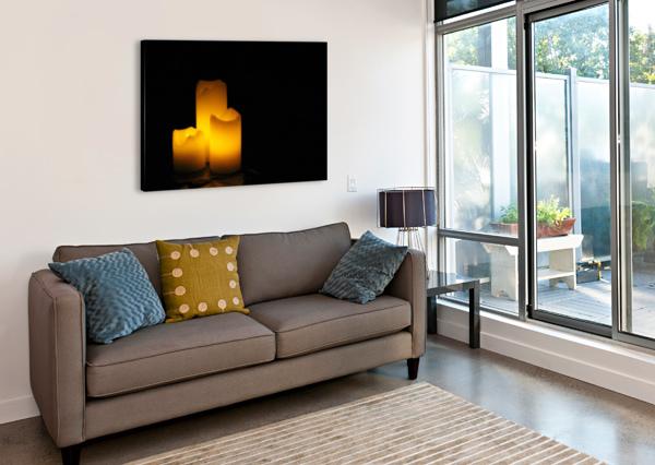 LIGHT IN THE DARK BOB VOGT  Canvas Print