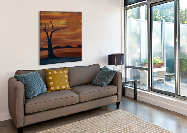ARES TREE ACRYLIC PAINTING ARES TREE ACRYLIC PAINTING  Canvas Print