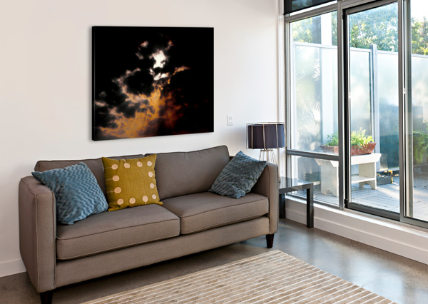 SKY TALK BRETT NOEL  Canvas Print