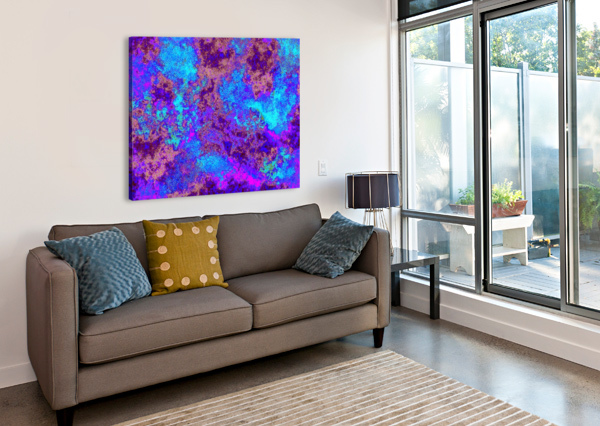 SUMMER STORM CLOUDS 9  SHERRIE LARCH  Canvas Print