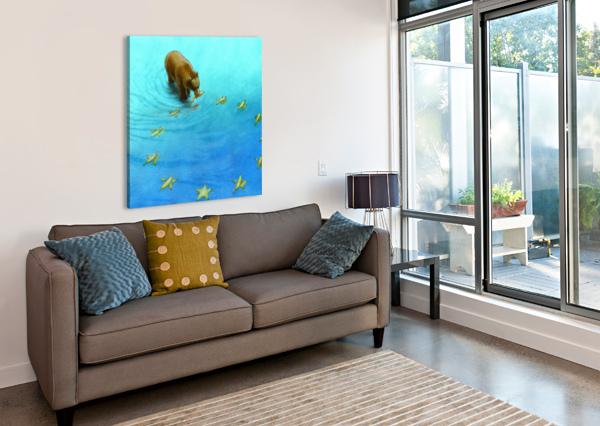 GOLD FISHES PAWEL KUCZYNSKI  Canvas Print