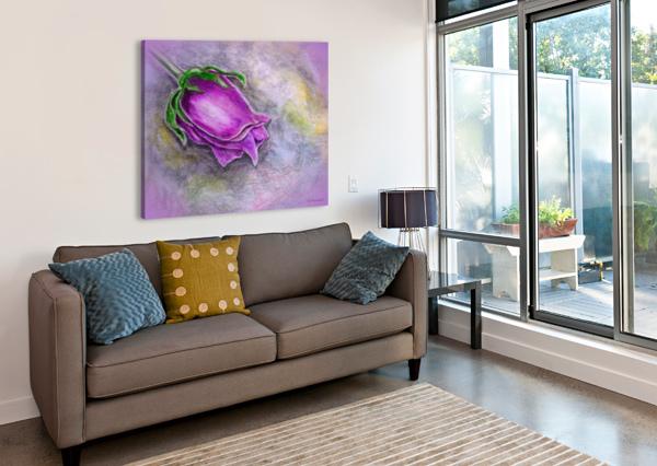 DREAMY ROSE FAYE ANASTASOPOULOU  Canvas Print