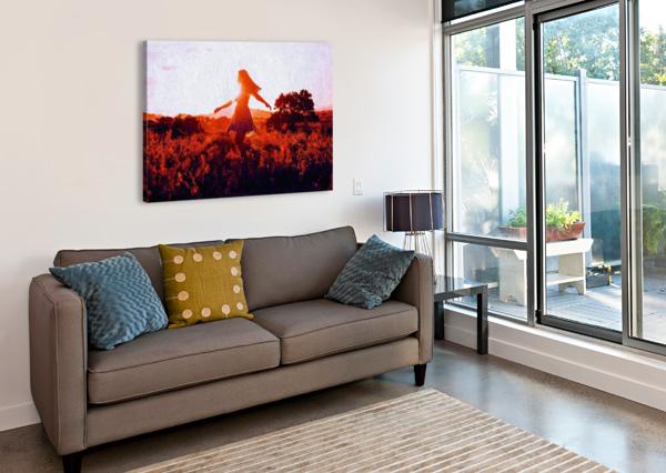 LABELLE CANVASFINE  Canvas Print