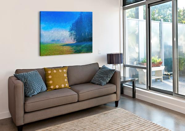 SMOKY MOUNTAIN CANVASFINE  Canvas Print